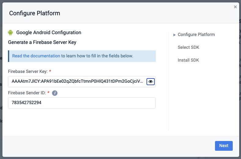 OneSignal Token Firebase